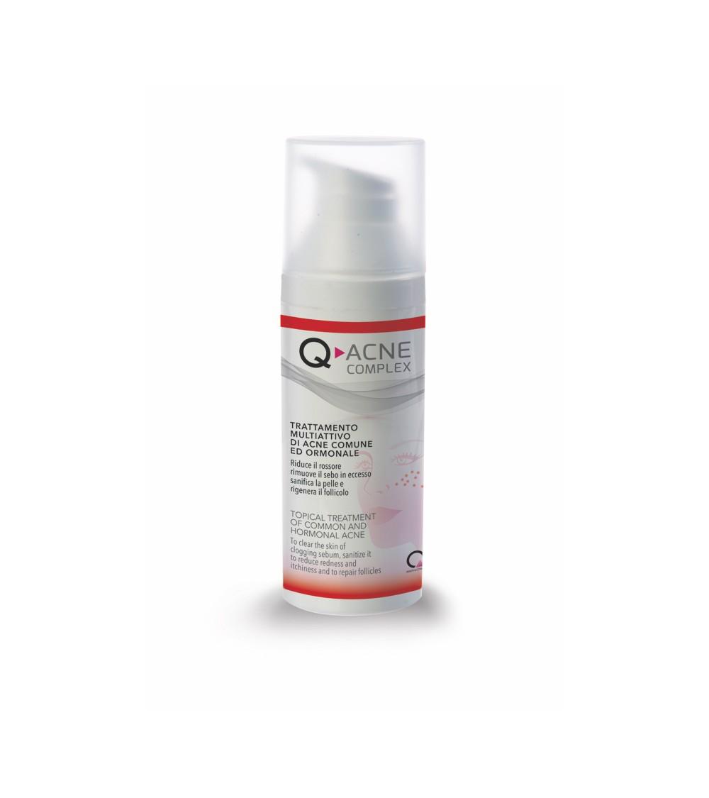 Q-ACNE Complex - крем против акне и лечение на обикновено и хормонално акне | Whiteflower.bg