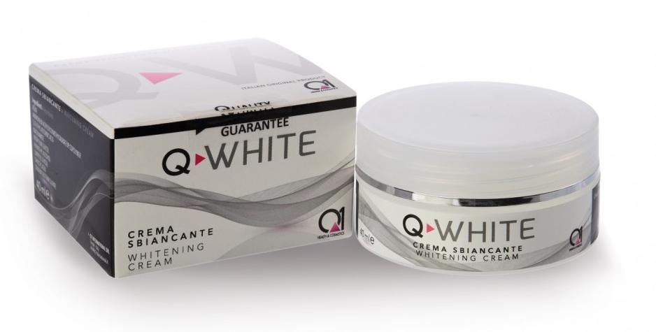 Q-WHITE е продукт, специфично създаден за лечение на хиперхромия и хиперпигментация при най-широк кръг естетични нарушения на кожата.